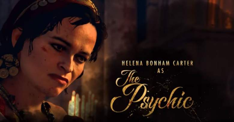 Helena Bonham Carter Dead of the Night Interview