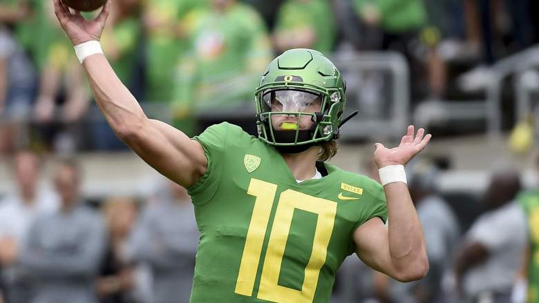 Justin Herbert College Football Betting