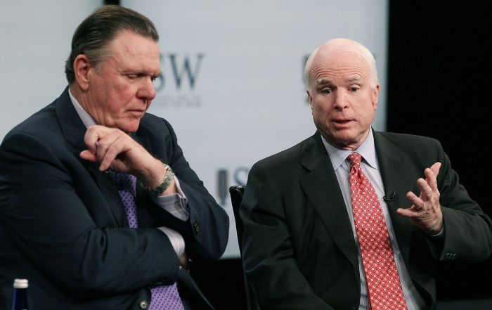 Jack Keane and McCain