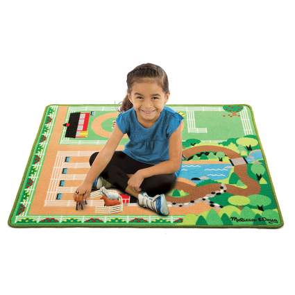 Horse themed play mat