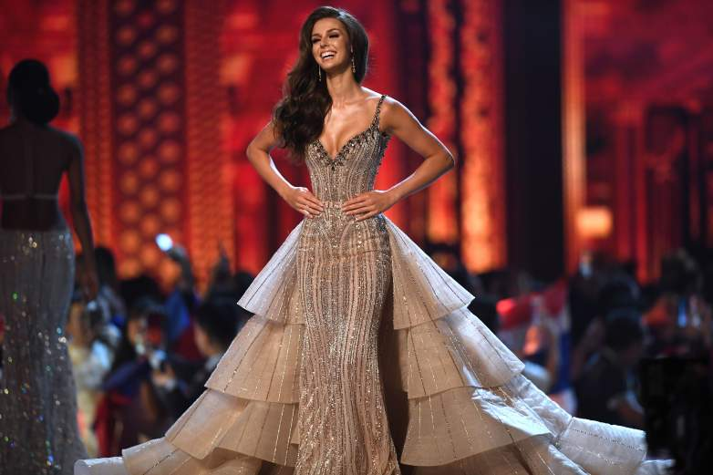 Miss Canada evening gown