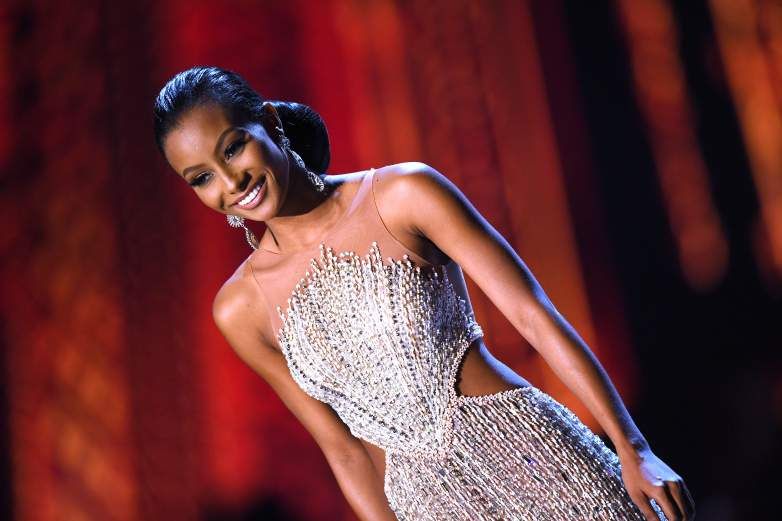 Miss Curacao evening gown