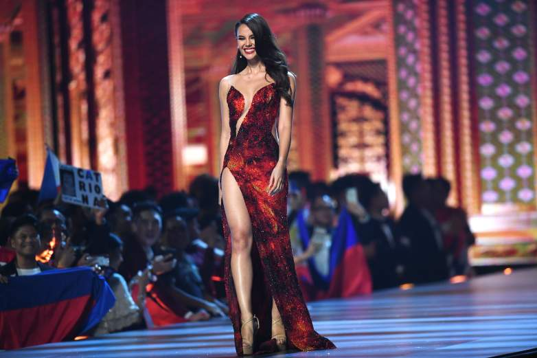 Miss Philippines evening gown