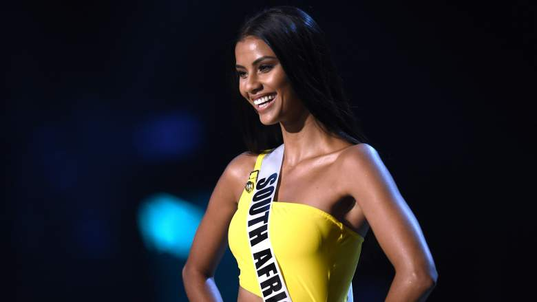 Miss South Africa Tamaryn Green