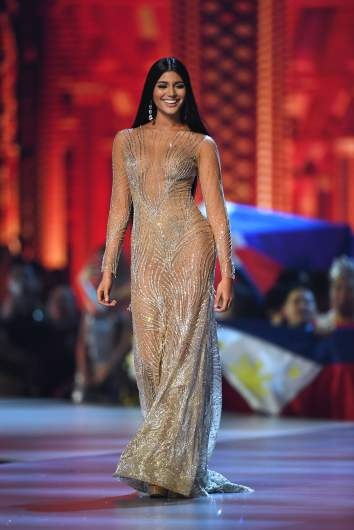 Miss Venezuela evening gown