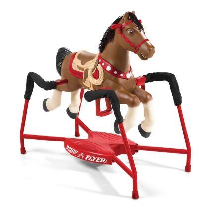 Radio Flyer spring horse bouncer