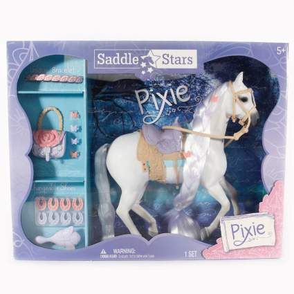 Saddle Stars horse figurine
