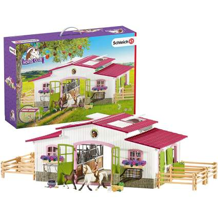 Schleich horse riding center toy set