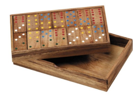 Wooden Domino Game