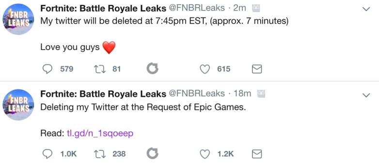 FNBRLeaks Deleted