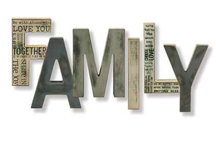 'FAMILY' Wall Hanging
