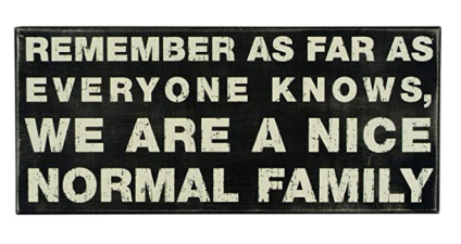 Funny Family Wall Hanging
