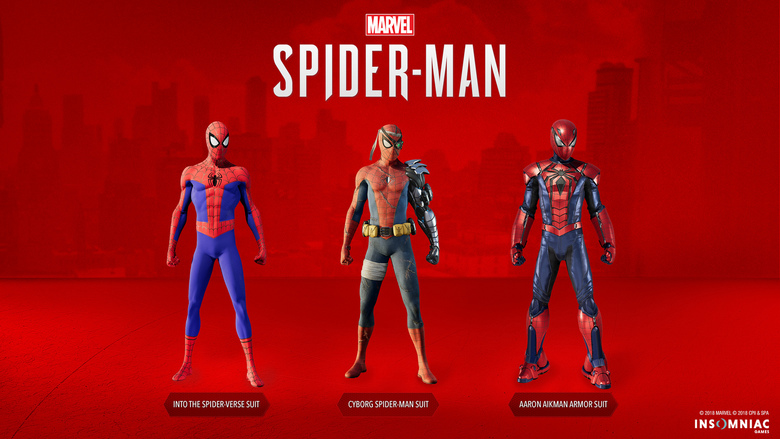 Spider-Man New Suits