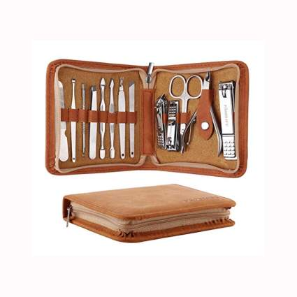 stainless steel professional grooming kit