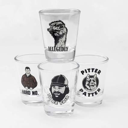 Letterkenny shotglasses