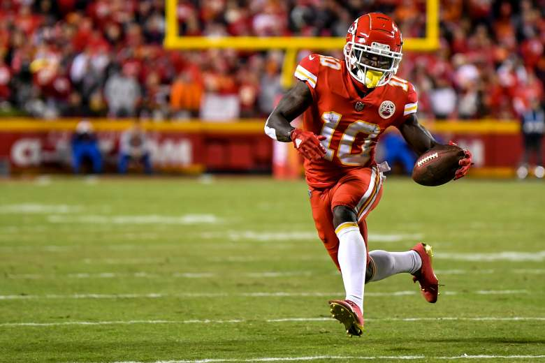 Tyreek Hill Fantasy Football Mecole Hardman