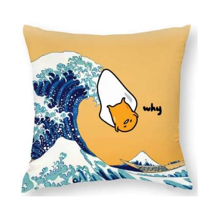 Gudetama novelty pillow