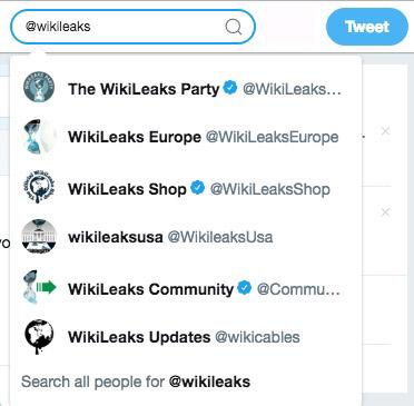 Wikileaks Twitter Ban