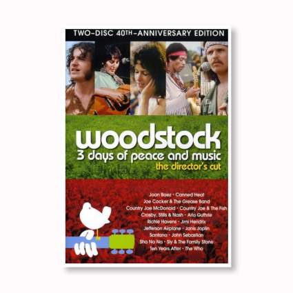 woodstock music festival DVD set