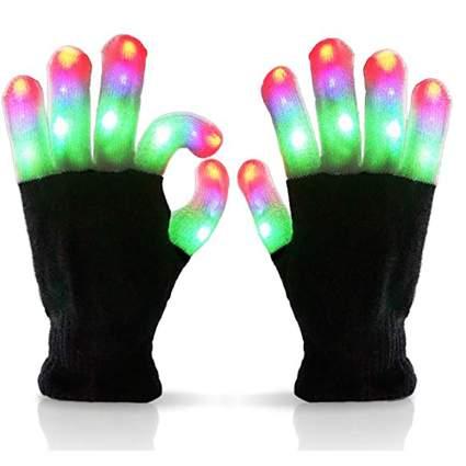 LED coloful gloves
