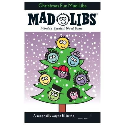 Christmas mad libs book