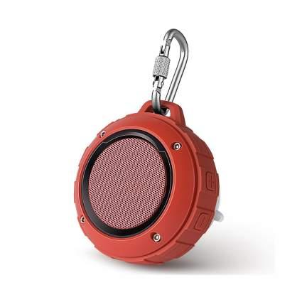 red keychain speaker