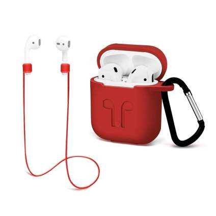 airpod case and keychain
