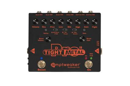 Amptweaker TightMetal Pro II Distortion Pedal