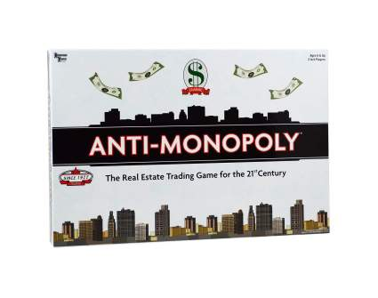 Anti-Monopoly adult board games