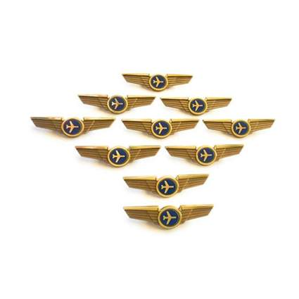 aviator kids wings pins aviation gifts