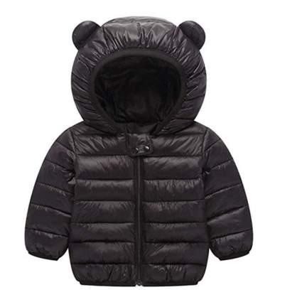Baby Bear Ears Puffer Jacket