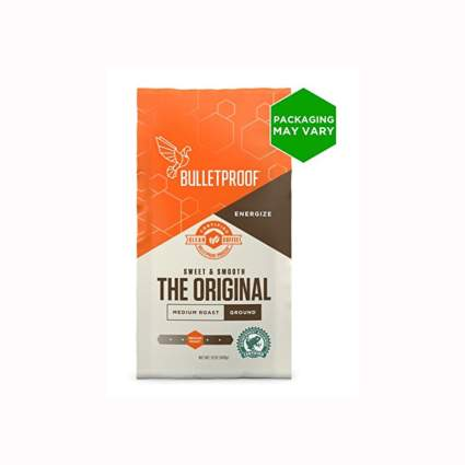 bullet proof organic ground coffee