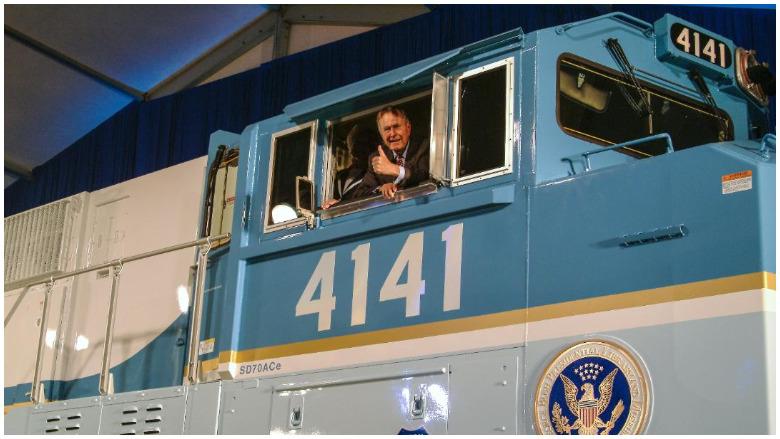 Bush train 4141