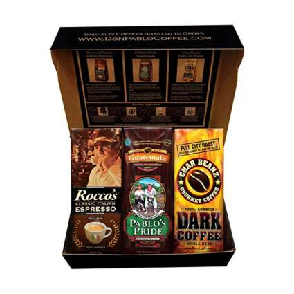 Cafe Don Pablo coffee gift basket