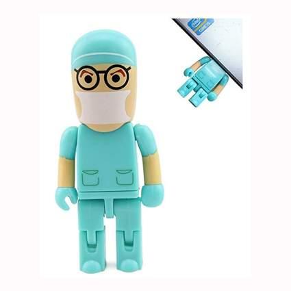 cartoon doctor USB thumb drive