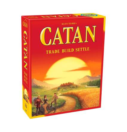 settlers of catan adult board games