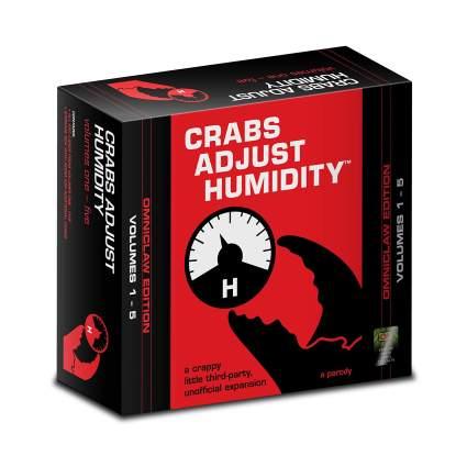 crabs adjust humidity adult board game