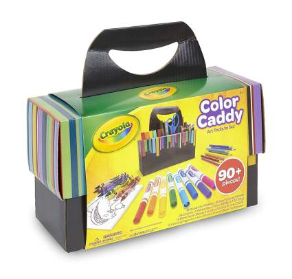 crayola color caddy art tools gift set