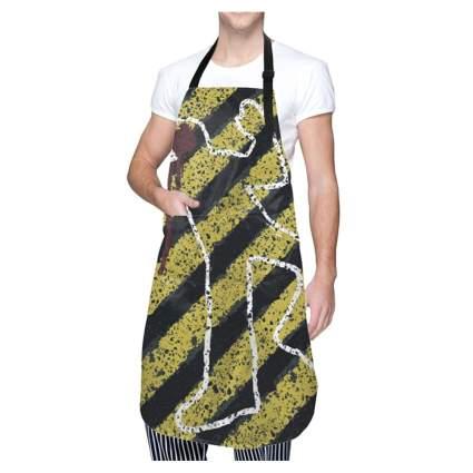 crime scene apron