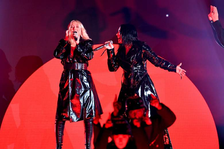Demi Lovato and Christina Aguilera