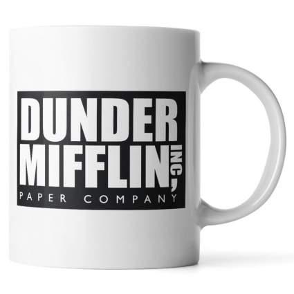 dunder mifflin mug