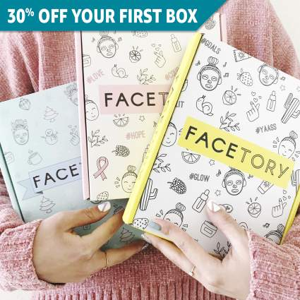 facetory monthly subscription boxes