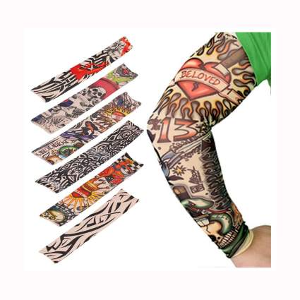 fake tattoo arm sleeve set