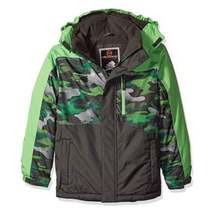 Free Country Boys' Asymmetrical Boarder Jacket
