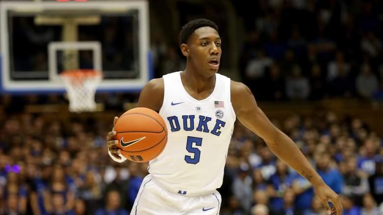 RJ Barrett NBA Draft projections mocks