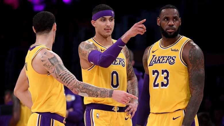 LeBron James, Kuzma, Ball