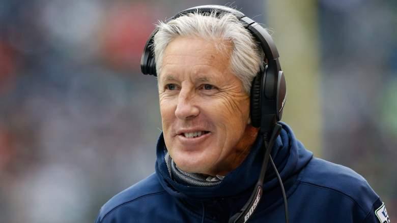 Seattle Seahawks coach Pete Carroll