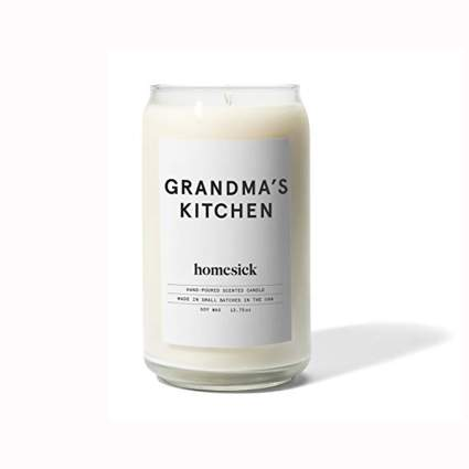 grandma's kitchen scented candle