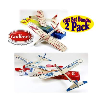 Guillow's balsa wood gliders aviation gifts