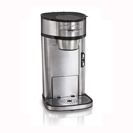 stainless steel single serve coffee maker